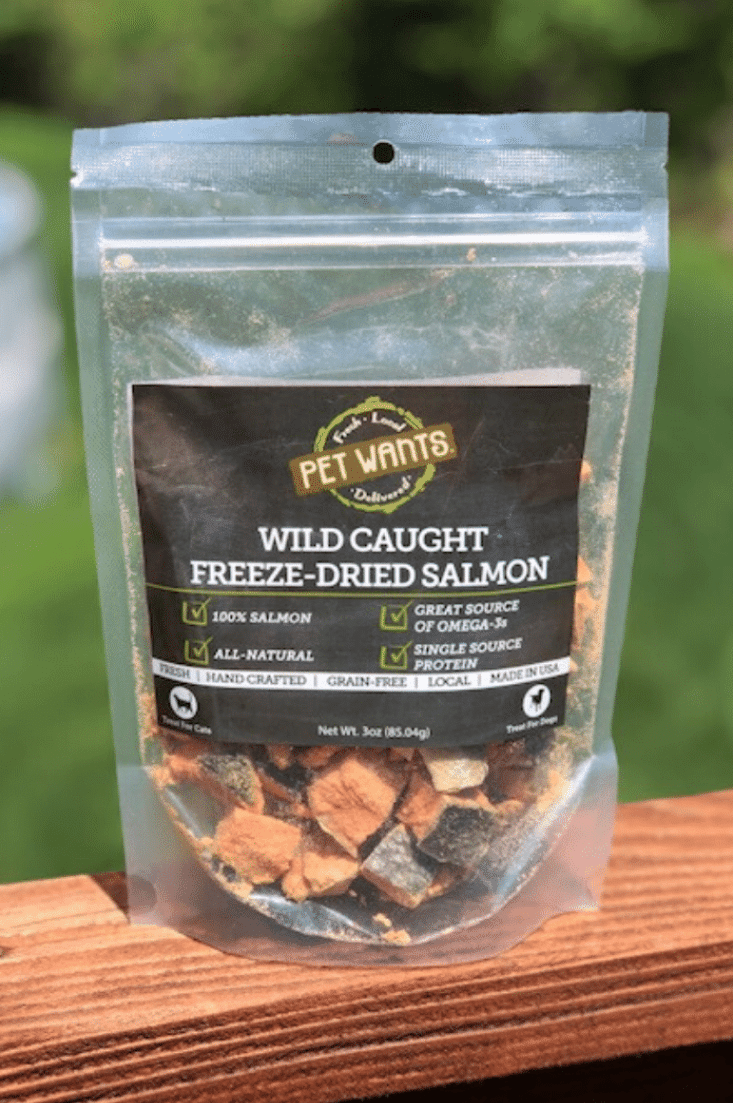New lower price! Freeze Dried Salmon for Cats & Dogs